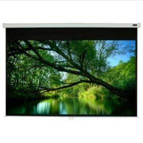 """EluneVision Triton Manual Projection Screen - 120"""" - 4:3 - Ceiling Mount"""