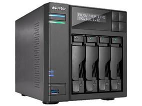 Asustor 4-Bay NAS, Intel Celeron Quad-Core, 8GB (AS6404T)