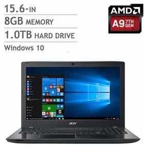 "Acer Aspire E5-523-979H (Refurbished)Notebook I 15.6"" AMD A9-9410, 8GB DDR4,1TB HDD I AMD Radeon Graphics Windows 10"