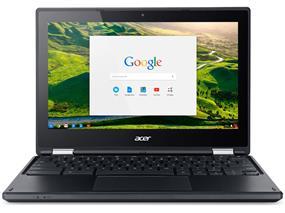 "Acer C738T-C44Z (Refurbished) Chromebook R 11 NX.G55AA.005 I 11.6"" Touchscreen HD (1366 x 768) Intel Celeron N3150(1.60 GHz) 4GB DDR3, 16GB SSD I Intel HD Graphics Bluetooth 4.0 Chrome OS"