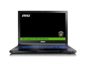 MSI WS63 7RK-297CA Workstation Notebook
