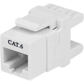 StarTech 180 degree Cat6 Keystore Jack (C6KEY110SWH)