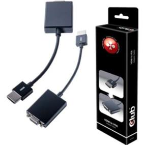 Club3D HDMI 1.4 MALE to VGA FEMALE ACTIVE Adapter (CAC-1301)
