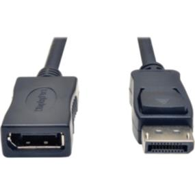 Tripp Lite DisplayPort Extension Cable with Latches (M/F) - 6 ft. (P579-006)