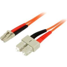 StarTech Multimode 50/125 Duplex Fiber Patch Cable LC - SC - LC Male Network - SC Male Network - 10m (50FIBLCSC10)