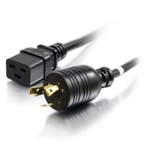 Cables to GO 12AWG 250 Volt Power Cord (NEMA L6-20P to IEC320 C19) - 3 ft. (10353)