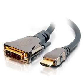 Cables to Go 1M SONICWAVE® HDMI® TO DVI-D™ DIGITAL VIDEO CABLE M/M - IN-WALL CL2-RATED (3.3FT) (40287)