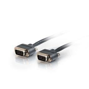 Cables to Go 35FT VGA MONITOR/PROJECTOR CABLE WITH ROUNDED LOW PROFILE CONNECTORS M/M - PLENUM CMP-RATED (40093)