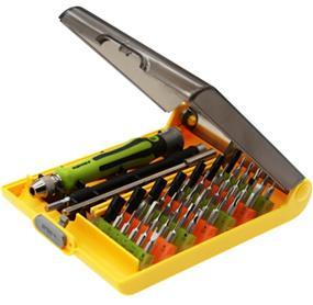 King'sdun 45 in 1 Precision Screwdriver Set for Computer Mobile Phone Repair Tool Kit (KS-8089A)