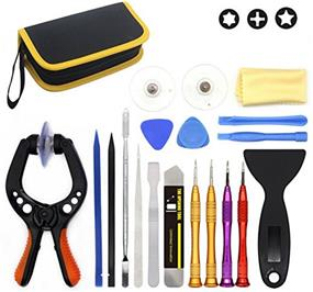 King'sdun 19 In 1 Premium Opening Tool kit for Phone Tablet Laptop Computer Electronics With Durable Nylon Case (KS-85820)