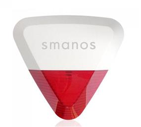 Smanos Wireless Outdoor Strobe Siren  (SS2800)