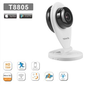 TENVIS HD720P Indoor P2P IP Camera-T8805