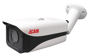 iCan 1080P(1920*1080)@30fps, Weatherproof IP66, PoE,  IP Security Camera - CC-IPC-HS20T327