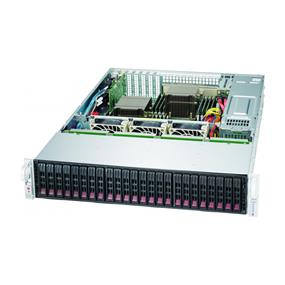 "SuperMicro SuperChassis (216BE1C-R920LPB) - 2U Chassis - 24 x 2.5"" Hot-swap SAS/SATA Drive Bay, Optional 2 x 2.5"" Hot-Swap Drive Bay"