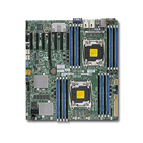 Supermicro X10DRH-C Server Motherboard - Intel Xeon® processor E5-2600 v4 - Dual Socket LGA-2011 - Brown Box - E-ATX