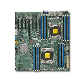Supermicro X10DRH-I-O Server Motherboard - Intel Xeon® processor E5-2600 v4 - Dual Socket LGA-2011 - Retail Box - E-ATX