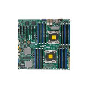 Supermicro MBD-X10DRi-LN4+-O Server Motherboard - Intel Xeon® processor E5-2600 v4 - Dual Socket LGA-2011 - Retail Box - Enhanced E-ATX