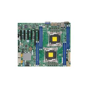 Supermicro MBD-X10DRL-i Server Motherboard - Intel Xeon® processor E5-2600 v4 - Dual Socket LGA-2011 - Retail Box - ATX