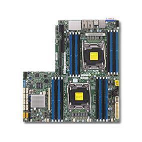 Supermicro MBD-X10DRW-i Server Motherboard - Intel Xeon® processor E5-2600 v4 - Dual Socket LGA-2011 - Retail Box - Proprietary WIO