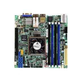 Supermicro MBD-X10SDV-TLN4F Server Motherboard - Intel Xeon® processor D-1541 - Socket FCBGA 1667 - Retail Box - Mini-ITX