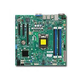 Supermicro MBD-X10SLL-F Server Motherboard - Intel Xeon® processor E3-1200 v3 - Socket LGA 1150 - Retail Box - microATX