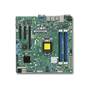 Supermicro MBD-X10SLM-F Server Motherboard - Intel Xeon® processor E3-1200 v3 - Socket LGA 1150 - Retail Box - microATX