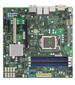 Supermicro MBD-X11SAE-M-O Server Motherboard - Intel Xeon® processor E3-1200 v5/v6 - Socket LGA 1151 - Retail Box - microATX
