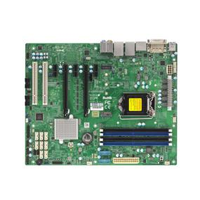 Supermicro MBD-X11SAE-M Server Motherboard - Intel Xeon® processor E3-1200 v3 - Socket LGA 1151 - Retail Box - microATX