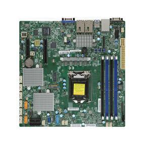 Supermicro MBD-X11SSH-CTF Server Motherboard - Intel Xeon® processor E3-1200 v5 - Socket LGA 1151 - Retail Box - microATX