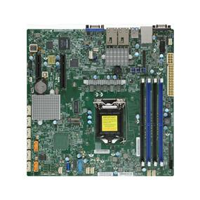 Supermicro MBD-X11SSH-TF Server Motherboard - Intel Xeon® processor E3-1200 v5 - Socket LGA 1151 - Retail Box - microATX