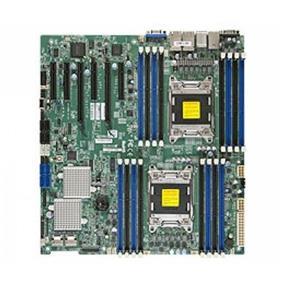 Supermicro MBD-X9DR7-LN4F Server Motherboard - Intel Xenon E5-2600 v2 - Dual Socket LGA 2011 - Retail Box - E-ATX