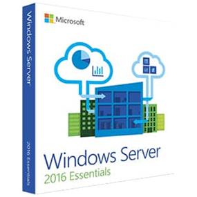 Microsoft Windows Server 2016 Essentials - Box pack - 1 processor - DVD - 64-bit - English