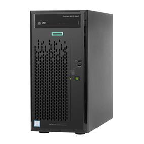 HPE ProLiant ML10 Entry - Server - tower - 4U - 1-way - 1 x Pentium G4400 / 3.3 GHz - RAM 4 GB - no HDD - DVD - GigE