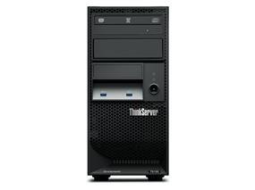 Lenovo ThinkServer TS150,Xeon E3-1245 v5 4C/3.5GHz/8MB/80W/DDR4-2133,1x8GB UDIMM DDR4-2133 ECC,RAID 121i RAID Controller,4x3.5in Disk Bays,Open Storage,9.5mm DVD W,NO OS, 1-year Warranty,250W 85% Fixed Power Supply (70LV0037UX)