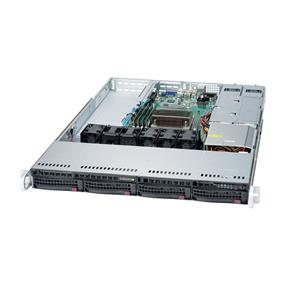 Supermicro SuperServer 5019S-WR Intel® Xeon® processor E3-1200 v5, DDR4 2400MHz; 4x DIMM Slots 1x PCI-E x8 (in x 16) AOC slot (SYS-5019S-WR)