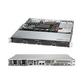 Supermicro SuperServer 6018R-MTR Intel® Xeon® processor E5-2600 v3, DDR4 2400MHz; 8x DIMM Slots 1x PCI-E 3.0 x8 (FHHL) AOC slot (SYS-6018R-MTR)
