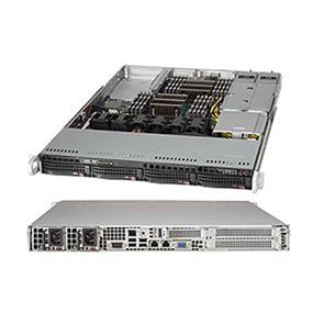 Supermicro SuperServer 6018R-WTR Intel® Xeon® processor E5-2600 v3, DDR4 2400MHz; 16x DIMM Slots 2x PCI-E 3.0 x16 (FHHL) AOC slot (SYS-6018R-WTR)