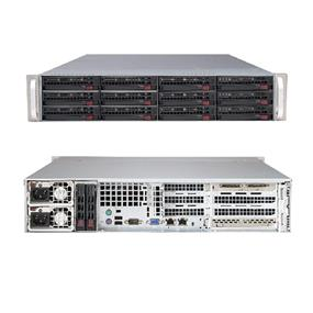 Supermicro SuperServer 6028R-TR Intel® Xeon® processor E5-2600 v3, DDR4 2400MHz; 16x DIMM Slots 2x PCI-E 3.0 x16 (FHHL) AOC slot (SYS-6028R-TR)