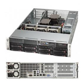 Supermicro SuperServer 6028R-WTR Intel® Xeon® processor E5-2600 v3, DDR4 2400MHz; 16x DIMM Slots 4x PCI-E 3.0 x8 (FHHL) AOC slot (SYS-6028R-WTR)