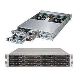 Supermicro SuperServer 6028TP-HC1R Intel® Xeon® processor E5-2600 v4, DDR4 2400MHz; 16x DIMM Slots 1x PCI-E 3.0 x16 (FHHL) AOC slot (SYS-6028TP-HC1R)