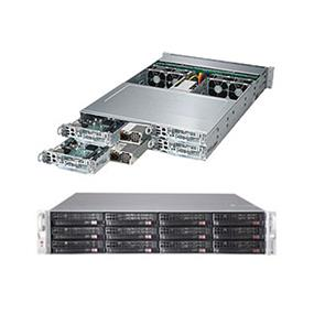 Supermicro SuperServer 6028TP-HTTR Intel® Xeon® processor E5-2600 v4, DDR4 2400MHz; 16x DIMM Slots 1x PCI-E 3.0 x16 (FHHL) AOC slot (SYS-6028TP-HTTR)