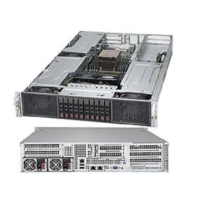 Supermicro SuperServer 2028GR-TR Intel® Xeon® processor E5-2600 v3, DDR4 2400MHz; 8x DIMM Slots 4x PCI-E 3.0 x16 & 1 OCI-E  3.0 x8 slot (SYS-2028GR-TR)