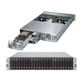 Supermicro SuperServer 2028TP-DTR Intel® Xeon® processor E5-2600 v3, DDR4 2400MHz; 16x DIMM Slots 1x PCI-E 3.0 x16, 1x PCI-E 3.0 x8, 1x PCI-E 3.0 x16 for GPU/XEON Phi Support (SYS-2028TP-DTR)