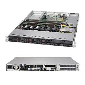 Supermicro SuperServer SYS-1028R-TDW Intel® Xeon® processor E5-2600 v3, DDR4 2400MHz; 16x DIMM Slots