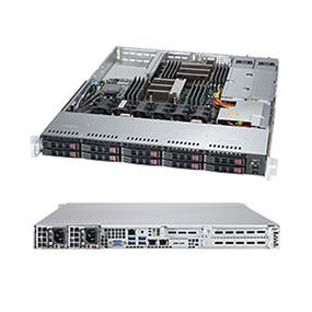 Supermicro SuperServer SYS-1028R-WTRT Intel® Xeon® processor E5-2600 v3, DDR4 2400MHz; 16x DIMM Slots