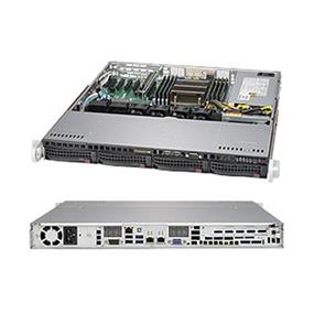 Supermicro SuperServer SYS-5018R-M Intel® Xeon® processor E5-2600 v4, DDR3 2400MHz; 8 DIMM slots; 1x PCI-E 3.0 x16 slot (SYS-5018R-M)