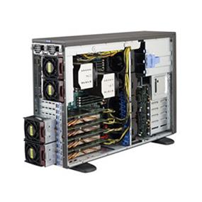 Supermicro SuperServer SYS-7048GR-TR Intel® Xeon® processor E5-2600 v3, DDR3 2400MHz; 16x DIMM slots (SYS-7048GR-TR)