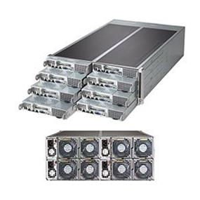 Supermicro SuperServer SYS-F618R3-FT Intel® Xeon® processor E5-2600 v3, DDR3 2400MHz; 8x DIMM slots (SYS-F618R3-FT)