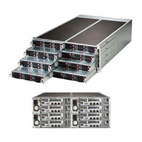Supermicro SuperServer SYS-F617R2-R72+ Intel® Xeon® processor E5-2600 v3, DDR3 2400MHz; 16x DIMM slots (SYS-F617R2-R72+)