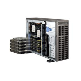 Supermicro SuperServer SYS-7047GR-TRF Intel® Xeon® processor E5-2600 v2, DDR3 1866MHz; 16x DIMM slots (SYS-7047GR-TRF)